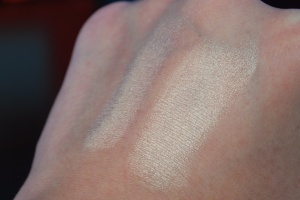 swatch on hand